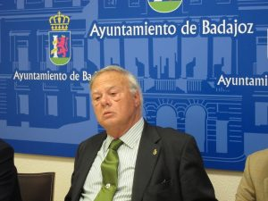 Miguel Ángel Celdrán Matute, exalcalde de Badajoz.