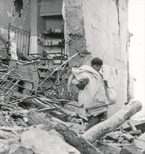 Imágenes del bombardeo