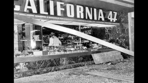 Atentado en la cafetería California.
