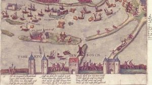 Plano de la isla de Bommel
