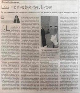 """Rocío Ruiz, """"Las Monedas de Judas"""""""