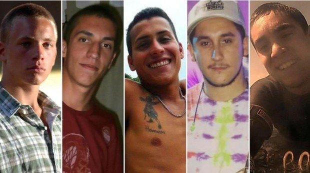 violadores argentinos