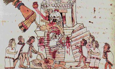 Azteken Menschenopfer