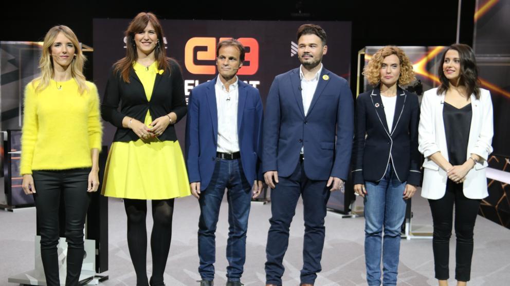 ¿Cuánto mide Gabriel Rufián? - Altura - Página 2 Debate-tv3