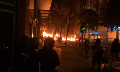 queman coches