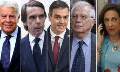 Margarita Robles se ha convertido en la antipodemita del Gobierno. González y Aznar le apoyan