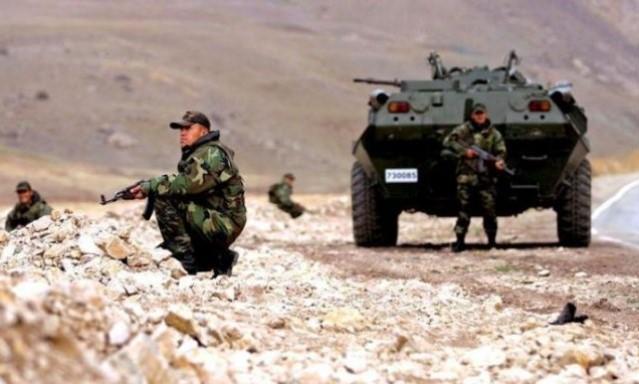 El ejército turco ataca a los cristianos