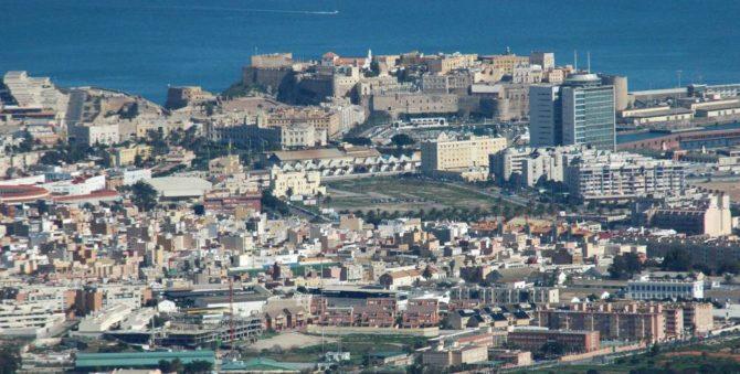 Vista de Melilla