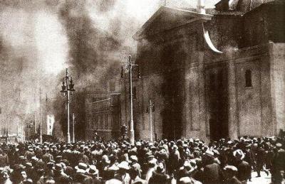 Quema de iglesias en Madrid durante la Segunda República
