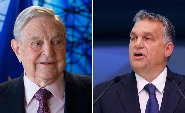 Soros y Viktor Orban