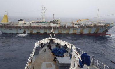 buque chino Lu Rong Yuan Yu 668