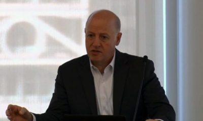 Peter Daszak, Presidente del Foro sobre Amenazas Microbianas, 12 de junio de 2019 (Youtube/NASEM Health and Medicine Division)