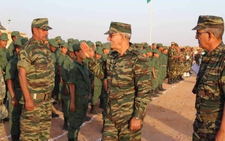 Niños empleados por el Polisario para la guerra