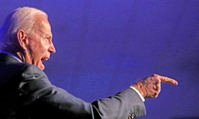 Joe Biden hablando con los asistentes a la Gala del Partido Demócrata del Condado de Clark en 2020 en el Tropicana Las Vegas en Las Vegas, Nevada. (Flickr/@Gage Skidmore)
