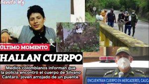 delincuentes venezolanos arrojan migrante peruano por puente colombia 10