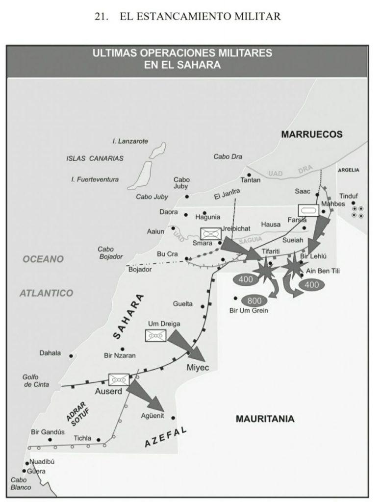 mapa conflicto sahara occidental estancamiento militar