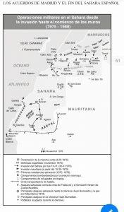 mapa conflicto sahara occidental estancamiento militar 1975 1980