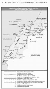 mapa conflicto sahara occidental muros 1
