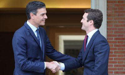 europapress 2110652 el presidente del gobierno en funciones pedro sanchez recibe al lider del pp pablo casado en moncloa