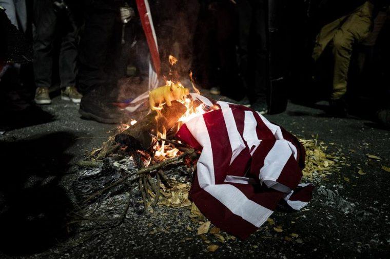 La agenda totalitaria intenta imponer sobre los Estados Unidos de América la ultraizquierda neomarxista (Archivo)
