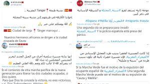 ¡ATENCIÓN! ¡ESTADO DE GUERRA EN CEUTA Y MELILLA! Llamamiento en Marruecos a otra 'marcha verde' para invadir 'la ciudad ocupada de Ceuta'