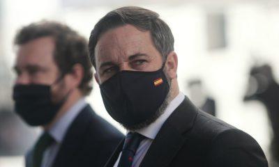 EuropaPress 3425130 lider vox santiago abascal llegada pleno debate totalidad proyecto ley