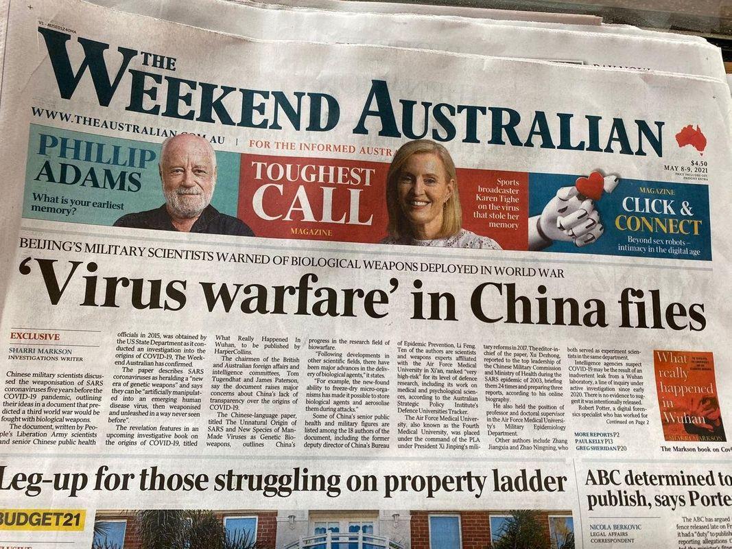 """Reportaje por Sherri Markson, periodista australiana que está escribiendo el libro """"¿Qué pasó realmente en Wuhan?"""""""