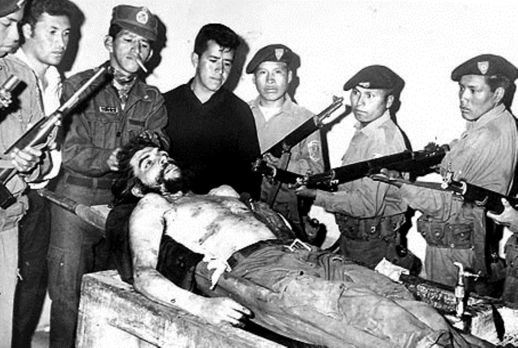 Ernesto Guevara muerto