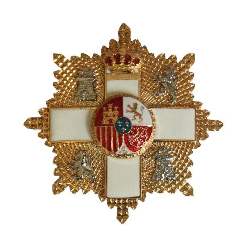 gran cruz merito militar distintivo blanco
