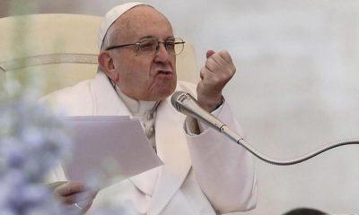 papa francisco enfadado
