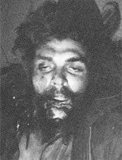 Expresión inteligente de Ernesto Guevara.