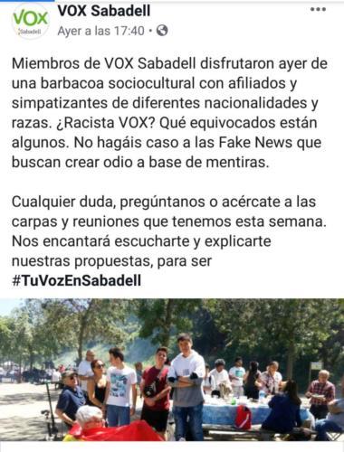 VOX SABADELL