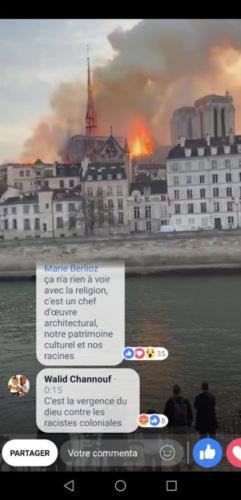 """Un musulman replica a un ciudadano francés horrorizado: """"Esto es la venganza De Dios por los racistas colonialistas"""""""