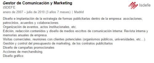 Directora de Marketing
