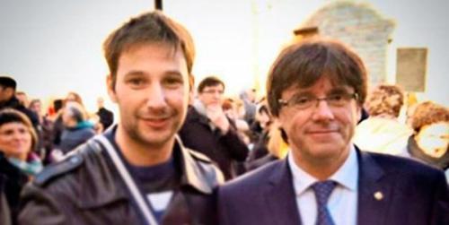 Alberto Donaire y su íntimo Puigdemont