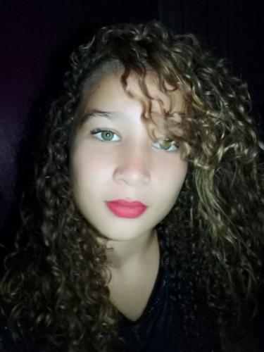 La adolescente violada